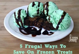 These 5 Frugal Ways To Save On Frozen Treats are a great way to enjoy a treat and save the budget!