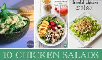 10 Summer Chicken Salads