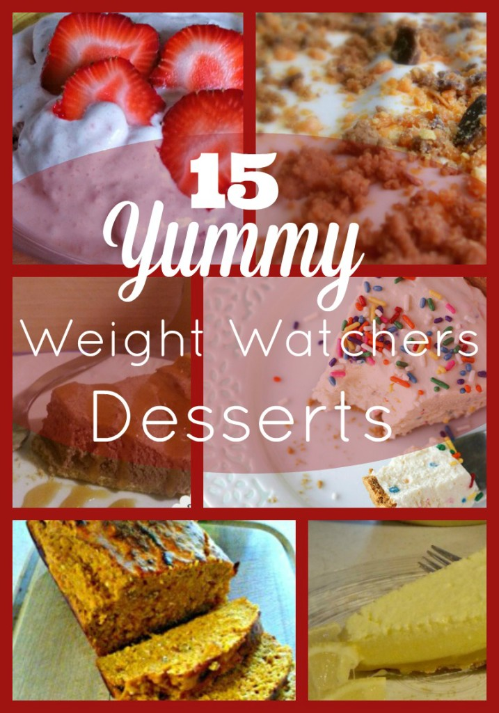 15 Yummy Weight Watchers Dessert Recipes