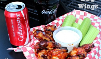 Grilled Coke BBQ Wings