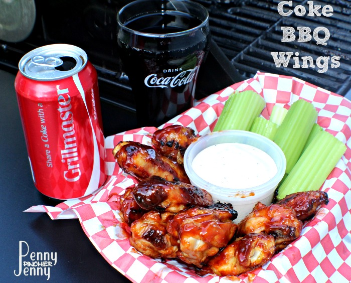 These Coke BBQ Wings are a huge hit with my family!! We love to grill with our friends over the summer and these are the perfect wings for these times!