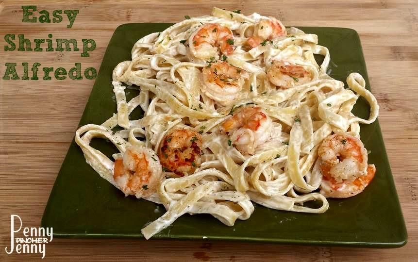 Easy Shrimp Alfredo Recipe