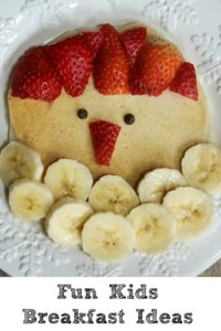 These Fun Kids Breakfasts are a great way to enjoy having the kids home over the summer or to celebrate a special occasion!