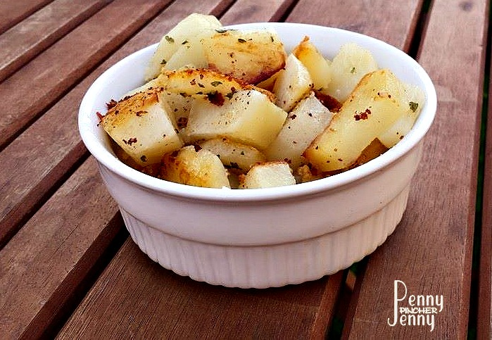 Garlic Parmesan Potatoes 2