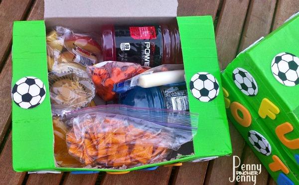 Powerade Snack Boxes