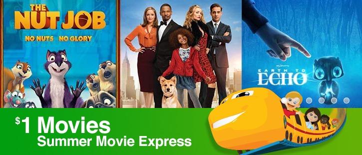 Summer Movie Express 1 Dollar Movies
