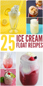 25 Ice Cream Floats To Try This Summer!