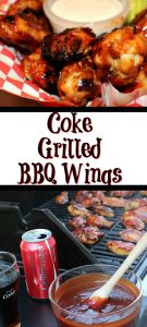 These Coke Grilled BBQ Wings are a huge hit with my family! We love to grill over the summer and for tailgating year round!