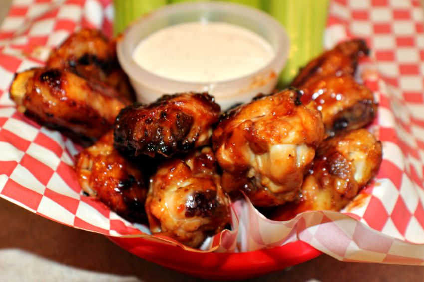 Coke Grilled BBQ Wings