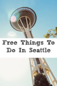 There are a lot of Free Things to do in Seattle!! It can be very easy to take a quick and frugal trip to the big city, parks, Pikes Place, and so much more!