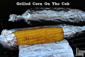 Grilled Corn On The Cob In Foil is a new family favorite!! We love how flavorful the corn was and it cooked perfectly on the grill!