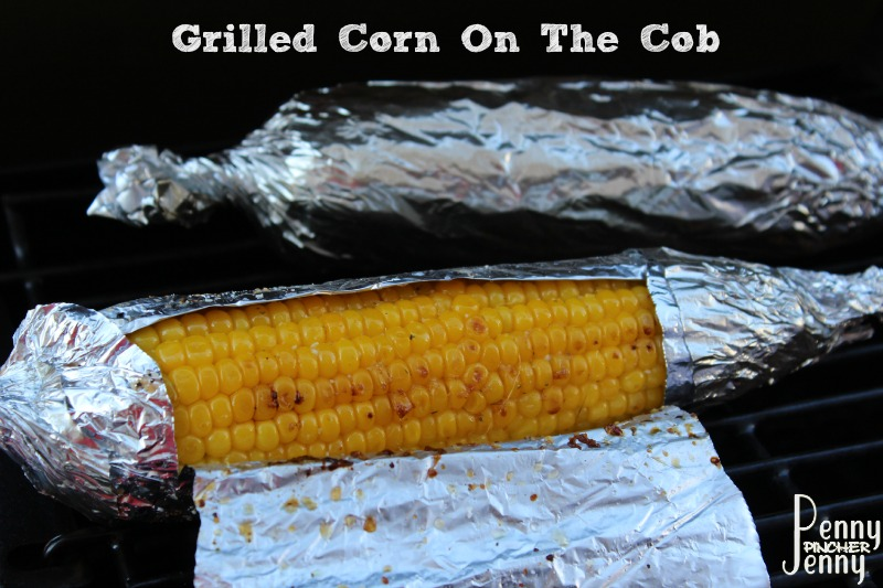 Grilled Corn On The Cob In Foil Easy Grilled Vegetable ...