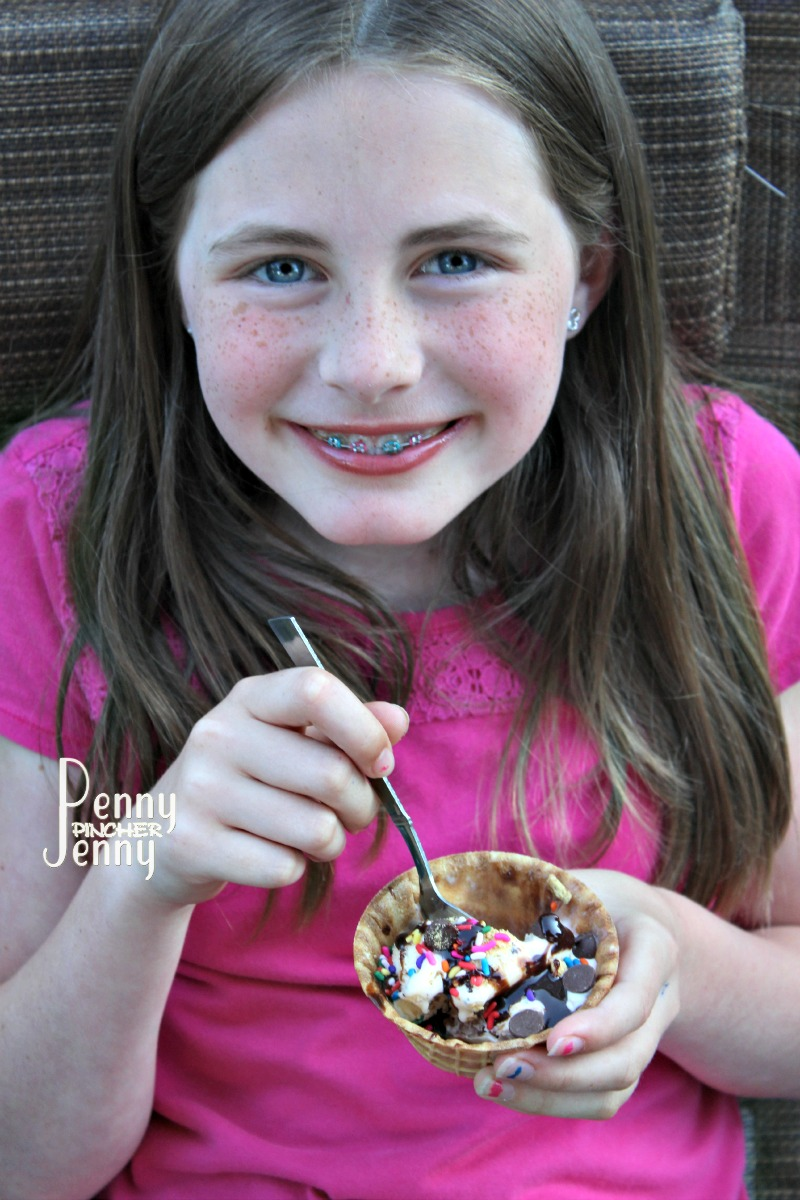 These Smores Ice Cream Sundaes are perfect for summer time! Some days its to hot to make a fire to make full smores so cooling down with these is a perfect!