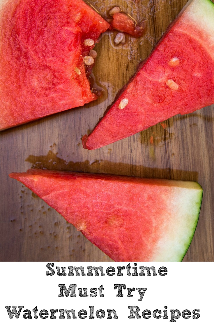Watermelon Recipes are perfect to enjoy during the summer months!! This is one of our favorite fruits to pick up at our local farmers market!