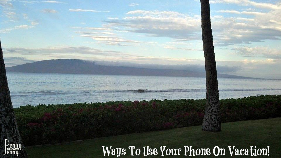Ways To Use Your Phone On Vacation!