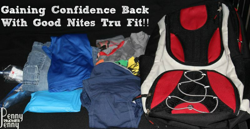 Gaining Confidence Back With GoodNites Tru Fit!! #ConfidentKids #ad