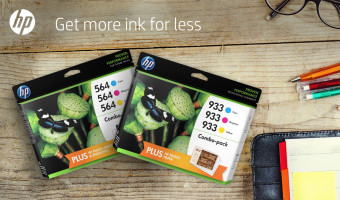 HP Ink Buy 1 Get 1 50% Off Thru Aug 1!