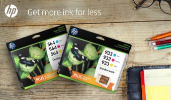 HP Ink Buy 1 Get 1 50% Off Thru Aug 1!