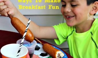 Ways To Make Breakfast Fun!