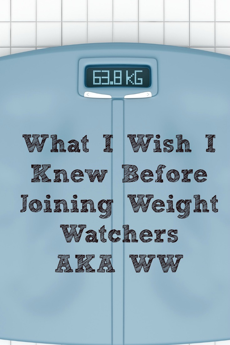 What I Wish I Knew Before Joining Weight Watchers AKA WW! It is amazing how much losing weight not only changes your body but also your mindset and life.