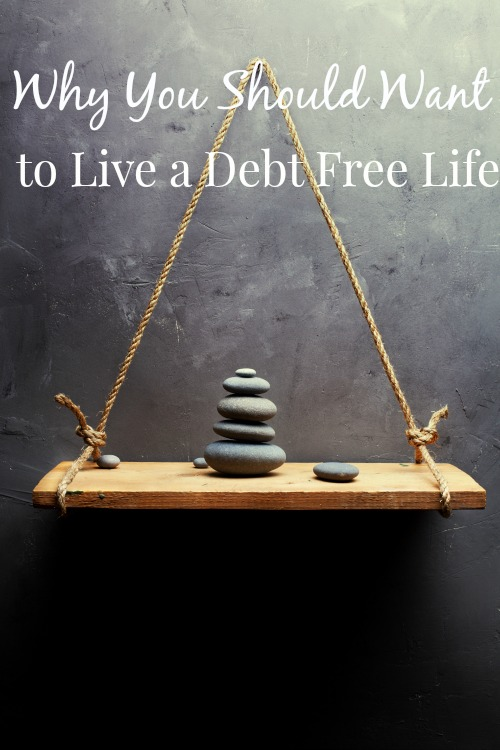 Why you should want to live debt free? There are a lot of reason why cash is king and being debt free is the way to live.