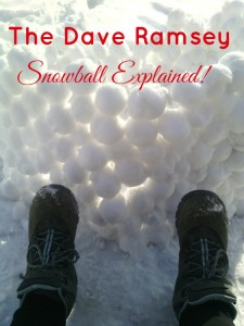 Dave Ramsey's Debt Snowball Method Explained! Dave Ramsey's system is a great way to pay off your debt and start living debt free and loving life.