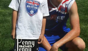 Michael's Week at British Soccer Camp in Review!