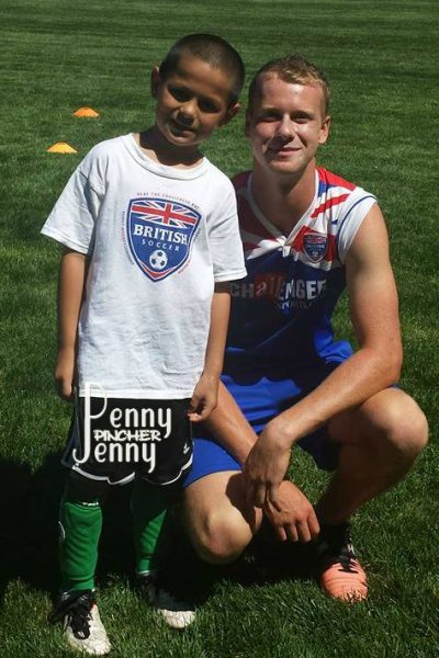 Michael's Week at British Soccer Camp in Review! He had so much fun and loved working with the coaches at the camp on his soccer skills and the world cup!