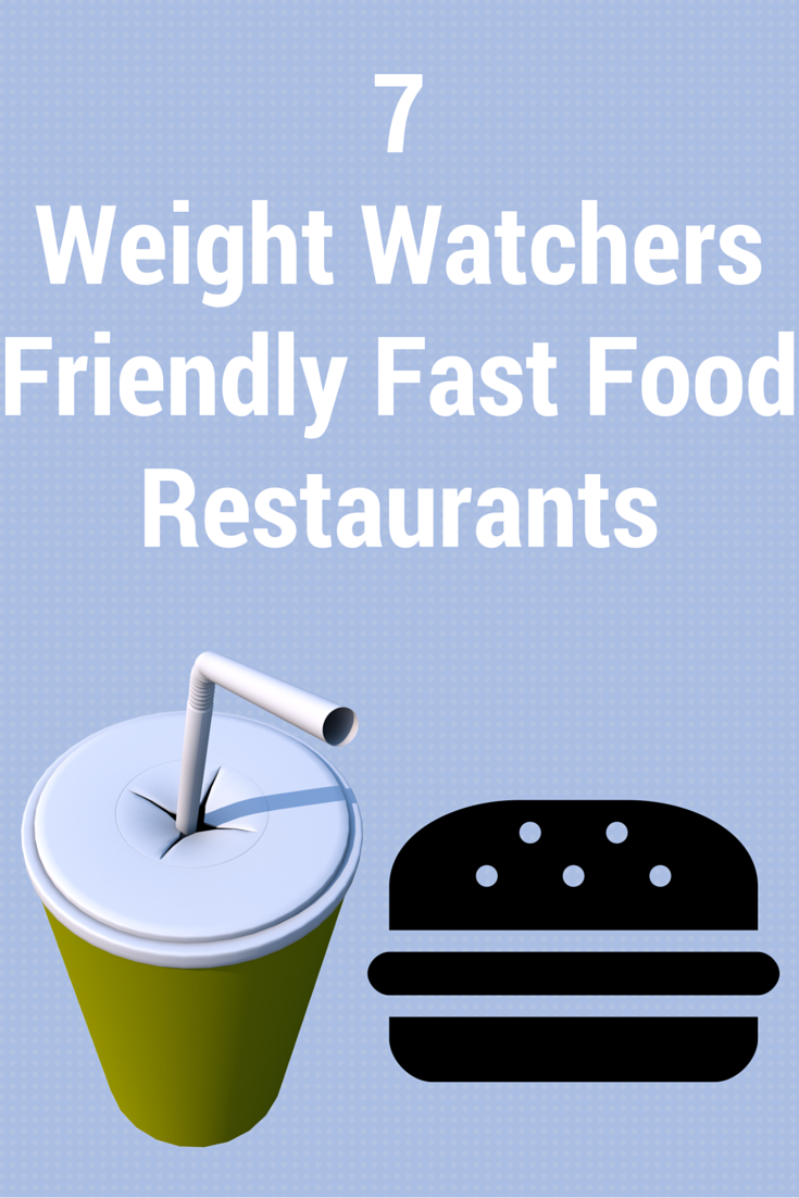 These 7 Best Weight Watchers Friendly Fast Food Restaurants are great for those times you are out and about and can't stick to what you had planned.