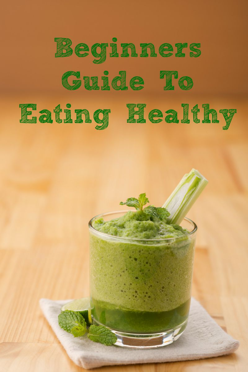 This Beginners Guide to Eating Healthy is a great way to get your bad eating habits under control for your health and for weight loss as well! There are several diets out there but just cutting out the junk and planning ahead is the best way to get started with eating healthy.