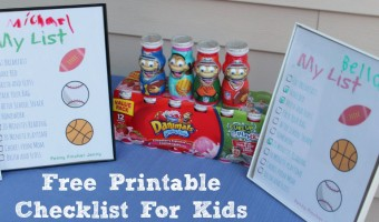 Free Printable Checklist For Kids