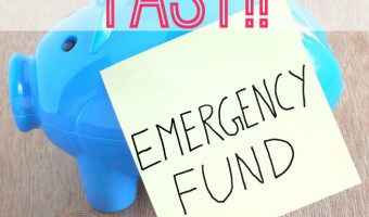 There are a a lot of Ways to Build Your Emergency Fund! This is the first step in Dave Ramsey's 7st