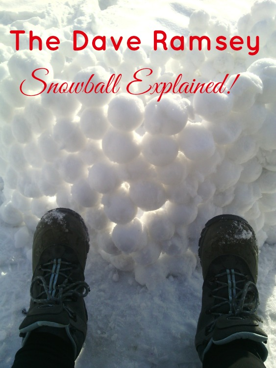 Dave Ramsey's Debt Snowball Method Explained AKA Baby Step 2! Great way to pay down your debt and stay focused on your goal of being debt free!