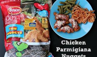 Ad: Tyson Chicken Parmigiana Nuggets
