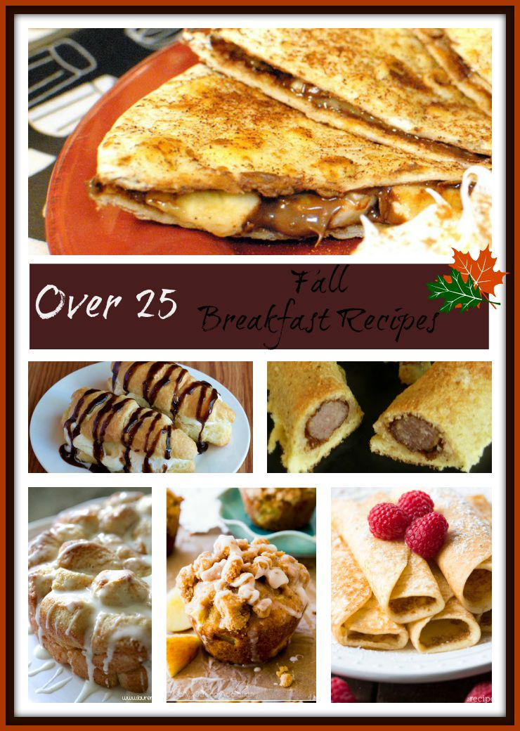 Over 25 Fall Breakfasts