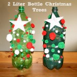 2 Liter Bottle Christmas Tree Craft
