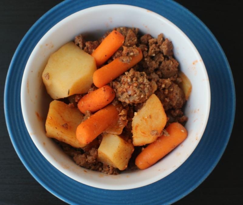Easy hamburger stew recipe