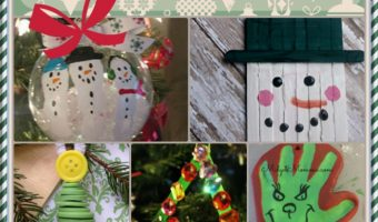 23 Easy Ornaments For Kids To Make