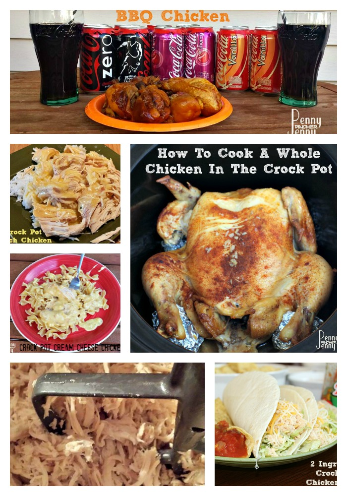 These Crock Pot Chicken Recipes are the perfect way to save time and have an amazing dinner on the table with very little effort!!