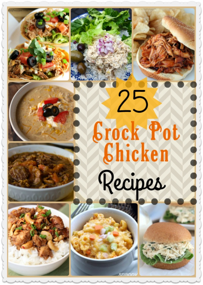 These Crock Pot Chicken Recipes are the perfect way to save time and have an amazing dinner on the table with very little effort!! As an added bonus chicken is a great lean protein