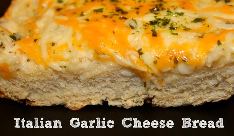 Italian Garlic Cheese Bread