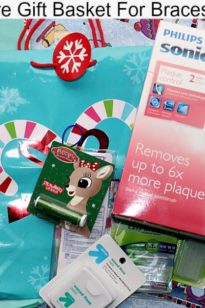 Sonicare Gift Basket For Braces Wearer Contents Of Basket