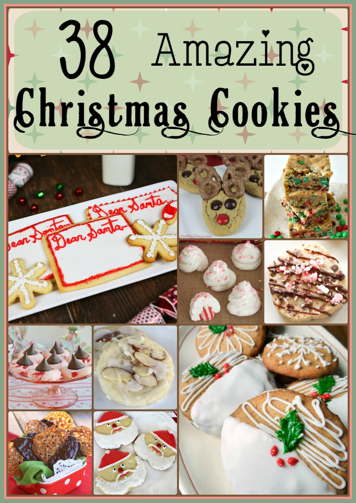 38 Amazing Christmas Cookies
