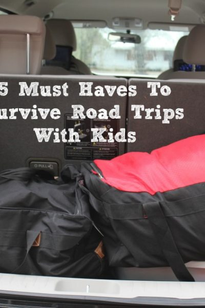 These 5 Must Haves To Survive Road Trips With Kids make any road trip of any length much more manageable!! Plus everyone in the car will be much happier!