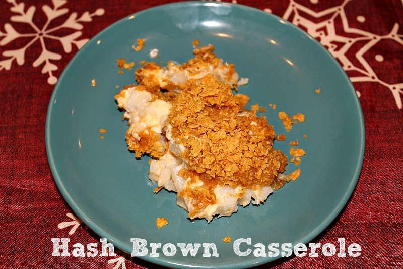 This Hash Brown Casserole recipe is perfect to pair up with any weeknight dinner! It is always a hit with my family and I get requests for it all the time. I love that it is delicious and easy to make.