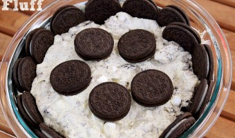 Oreo Fluff Quick Easy Dessert!