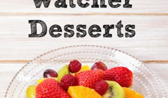 These Weight Watchers Dessert recipes are a great way to enjoy a treat without breaking your point allowance but satisfy your sweet tooth at the same time!