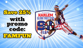 Fun Family Event 25% Off With Harlem Globetrotters!