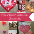 These 8 Fun & Creative Valentine's Day Decoration Ideas are a great way to get crafty with the kids! Plus they are great for making the house look great!