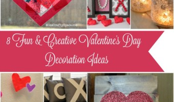 8 Fun & Creative Valentine's Day Decoration Ideas!!
